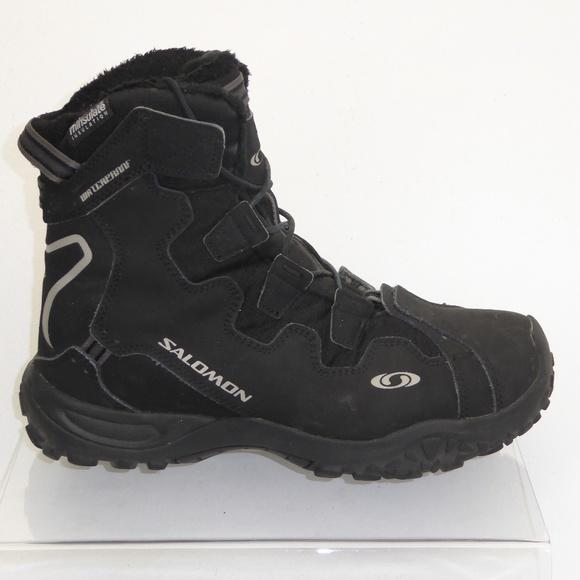 498b93399759 Salomon Winter Snow Boots Size 8.5  1003. M 5b4cdf70f63eeafc1dfb1d2e